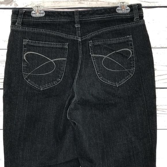 Chico's Denim - Chicos Platinum Jeans Quartz Black MidRise Bootcut